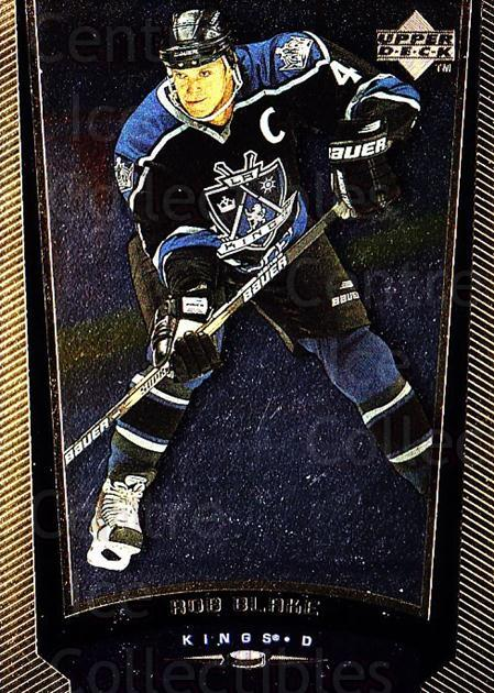 1998-99 Upper Deck Gold Reserve #285 Rob Blake<br/>6 In Stock - $1.00 each - <a href=https://centericecollectibles.foxycart.com/cart?name=1998-99%20Upper%20Deck%20Gold%20Reserve%20%23285%20Rob%20Blake...&quantity_max=6&price=$1.00&code=159696 class=foxycart> Buy it now! </a>