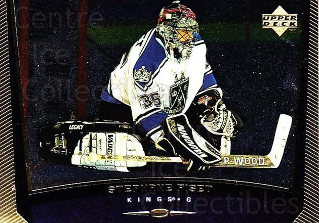 1998-99 Upper Deck Gold Reserve #288 Stephane Fiset<br/>5 In Stock - $1.00 each - <a href=https://centericecollectibles.foxycart.com/cart?name=1998-99%20Upper%20Deck%20Gold%20Reserve%20%23288%20Stephane%20Fiset...&quantity_max=5&price=$1.00&code=159699 class=foxycart> Buy it now! </a>