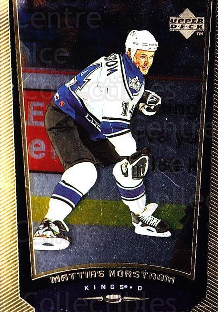 1998-99 Upper Deck Gold Reserve #289 Mattias Norstrom<br/>6 In Stock - $1.00 each - <a href=https://centericecollectibles.foxycart.com/cart?name=1998-99%20Upper%20Deck%20Gold%20Reserve%20%23289%20Mattias%20Norstro...&quantity_max=6&price=$1.00&code=159700 class=foxycart> Buy it now! </a>
