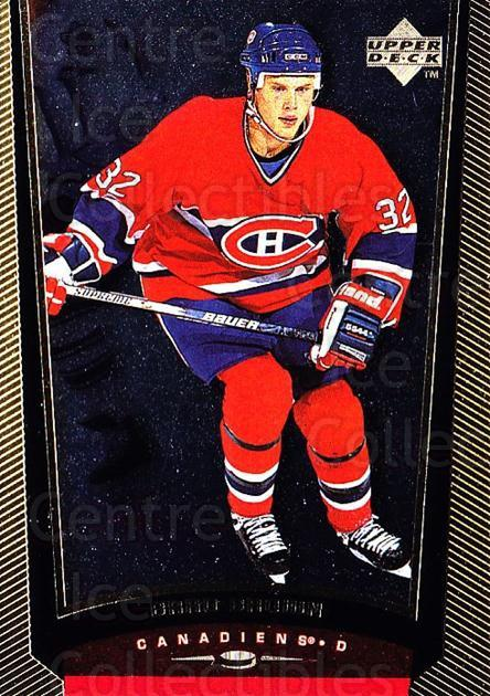 1998-99 Upper Deck Gold Reserve #292 Brad Brown<br/>5 In Stock - $1.00 each - <a href=https://centericecollectibles.foxycart.com/cart?name=1998-99%20Upper%20Deck%20Gold%20Reserve%20%23292%20Brad%20Brown...&quantity_max=5&price=$1.00&code=159703 class=foxycart> Buy it now! </a>