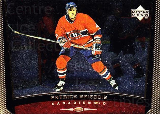 1998-99 Upper Deck Gold Reserve #293 Patrice Brisebois<br/>6 In Stock - $1.00 each - <a href=https://centericecollectibles.foxycart.com/cart?name=1998-99%20Upper%20Deck%20Gold%20Reserve%20%23293%20Patrice%20Brisebo...&quantity_max=6&price=$1.00&code=159704 class=foxycart> Buy it now! </a>