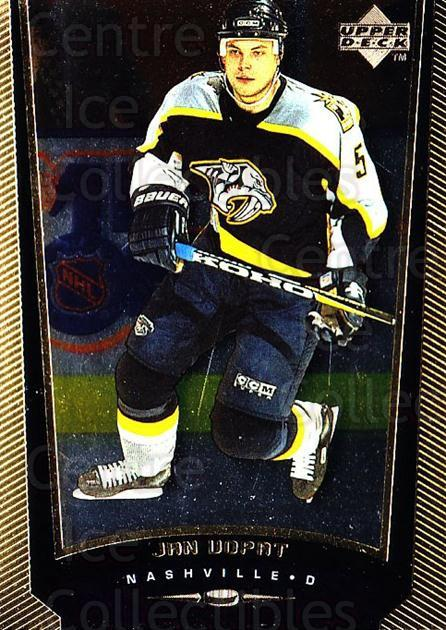 1998-99 Upper Deck Gold Reserve #299 Jan Vopat<br/>6 In Stock - $1.00 each - <a href=https://centericecollectibles.foxycart.com/cart?name=1998-99%20Upper%20Deck%20Gold%20Reserve%20%23299%20Jan%20Vopat...&quantity_max=6&price=$1.00&code=159710 class=foxycart> Buy it now! </a>