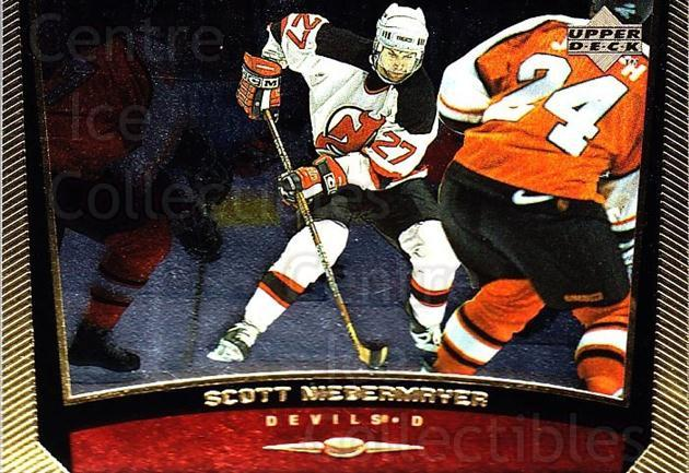 1998-99 Upper Deck Gold Reserve #308 Scott Niedermayer<br/>6 In Stock - $1.00 each - <a href=https://centericecollectibles.foxycart.com/cart?name=1998-99%20Upper%20Deck%20Gold%20Reserve%20%23308%20Scott%20Niedermay...&quantity_max=6&price=$1.00&code=159720 class=foxycart> Buy it now! </a>