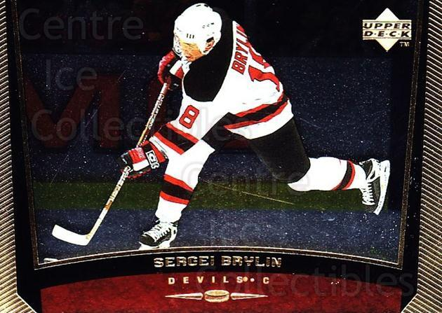 1998-99 Upper Deck Gold Reserve #311 Sergei Brylin<br/>6 In Stock - $1.00 each - <a href=https://centericecollectibles.foxycart.com/cart?name=1998-99%20Upper%20Deck%20Gold%20Reserve%20%23311%20Sergei%20Brylin...&quantity_max=6&price=$1.00&code=159724 class=foxycart> Buy it now! </a>
