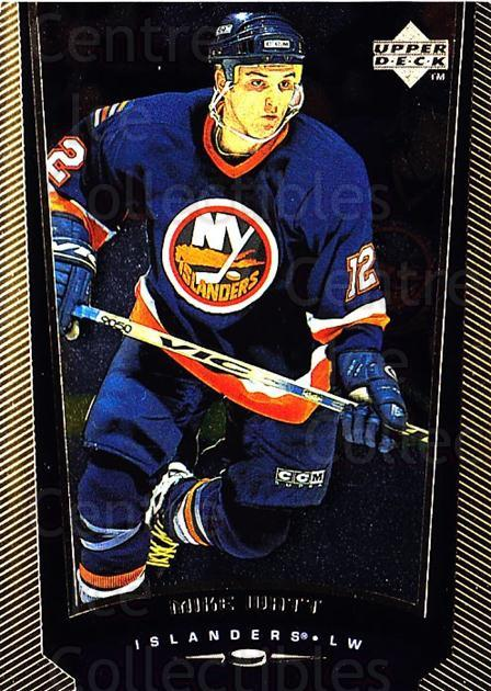 1998-99 Upper Deck Gold Reserve #316 Mike Watt<br/>5 In Stock - $1.00 each - <a href=https://centericecollectibles.foxycart.com/cart?name=1998-99%20Upper%20Deck%20Gold%20Reserve%20%23316%20Mike%20Watt...&quantity_max=5&price=$1.00&code=159728 class=foxycart> Buy it now! </a>