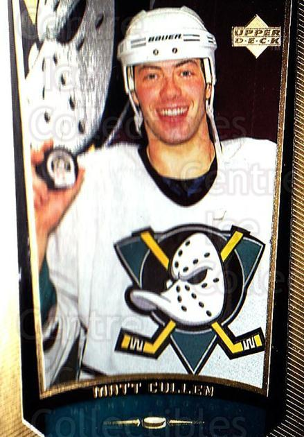 1998-99 Upper Deck Gold Reserve #32 Matt Cullen<br/>3 In Stock - $1.00 each - <a href=https://centericecollectibles.foxycart.com/cart?name=1998-99%20Upper%20Deck%20Gold%20Reserve%20%2332%20Matt%20Cullen...&quantity_max=3&price=$1.00&code=159731 class=foxycart> Buy it now! </a>