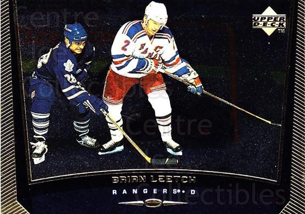1998-99 Upper Deck Gold Reserve #322 Brian Leetch<br/>6 In Stock - $1.00 each - <a href=https://centericecollectibles.foxycart.com/cart?name=1998-99%20Upper%20Deck%20Gold%20Reserve%20%23322%20Brian%20Leetch...&quantity_max=6&price=$1.00&code=159734 class=foxycart> Buy it now! </a>