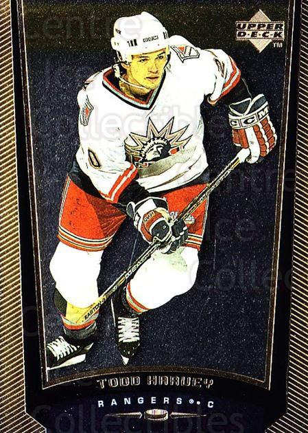 1998-99 Upper Deck Gold Reserve #323 Todd Harvey<br/>6 In Stock - $1.00 each - <a href=https://centericecollectibles.foxycart.com/cart?name=1998-99%20Upper%20Deck%20Gold%20Reserve%20%23323%20Todd%20Harvey...&quantity_max=6&price=$1.00&code=159735 class=foxycart> Buy it now! </a>