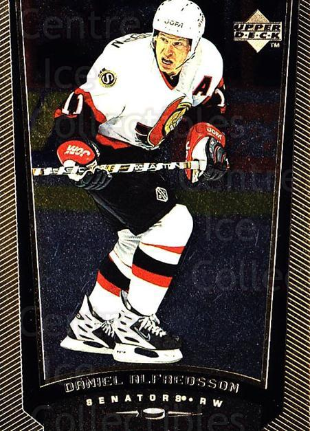 1998-99 Upper Deck Gold Reserve #327 Daniel Alfredsson<br/>4 In Stock - $1.00 each - <a href=https://centericecollectibles.foxycart.com/cart?name=1998-99%20Upper%20Deck%20Gold%20Reserve%20%23327%20Daniel%20Alfredss...&quantity_max=4&price=$1.00&code=159738 class=foxycart> Buy it now! </a>