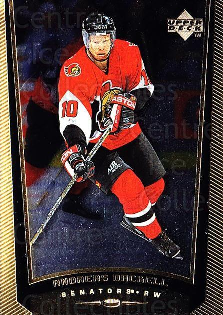 1998-99 Upper Deck Gold Reserve #331 Andreas Dackell<br/>6 In Stock - $1.00 each - <a href=https://centericecollectibles.foxycart.com/cart?name=1998-99%20Upper%20Deck%20Gold%20Reserve%20%23331%20Andreas%20Dackell...&quantity_max=6&price=$1.00&code=159743 class=foxycart> Buy it now! </a>