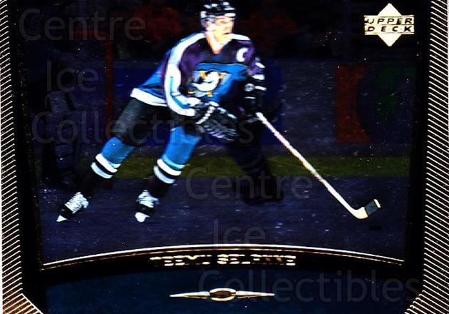 1998-99 Upper Deck Gold Reserve #34 Teemu Selanne<br/>3 In Stock - $2.00 each - <a href=https://centericecollectibles.foxycart.com/cart?name=1998-99%20Upper%20Deck%20Gold%20Reserve%20%2334%20Teemu%20Selanne...&quantity_max=3&price=$2.00&code=159751 class=foxycart> Buy it now! </a>