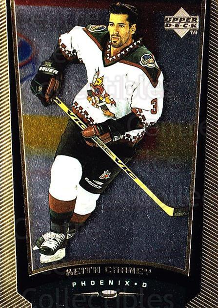 1998-99 Upper Deck Gold Reserve #343 Keith Carney<br/>6 In Stock - $1.00 each - <a href=https://centericecollectibles.foxycart.com/cart?name=1998-99%20Upper%20Deck%20Gold%20Reserve%20%23343%20Keith%20Carney...&quantity_max=6&price=$1.00&code=159755 class=foxycart> Buy it now! </a>