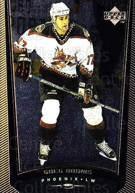 1998-99 Upper Deck Gold Reserve #344 Greg Adams<br/>6 In Stock - $1.00 each - <a href=https://centericecollectibles.foxycart.com/cart?name=1998-99%20Upper%20Deck%20Gold%20Reserve%20%23344%20Greg%20Adams...&quantity_max=6&price=$1.00&code=159756 class=foxycart> Buy it now! </a>