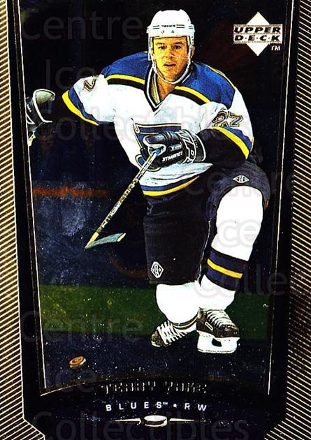 1998-99 Upper Deck Gold Reserve #360 Terry Yake<br/>6 In Stock - $1.00 each - <a href=https://centericecollectibles.foxycart.com/cart?name=1998-99%20Upper%20Deck%20Gold%20Reserve%20%23360%20Terry%20Yake...&quantity_max=6&price=$1.00&code=159771 class=foxycart> Buy it now! </a>