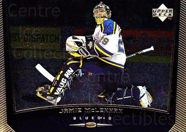 1998-99 Upper Deck Gold Reserve #361 Jamie McLennan<br/>3 In Stock - $1.00 each - <a href=https://centericecollectibles.foxycart.com/cart?name=1998-99%20Upper%20Deck%20Gold%20Reserve%20%23361%20Jamie%20McLennan...&quantity_max=3&price=$1.00&code=159772 class=foxycart> Buy it now! </a>