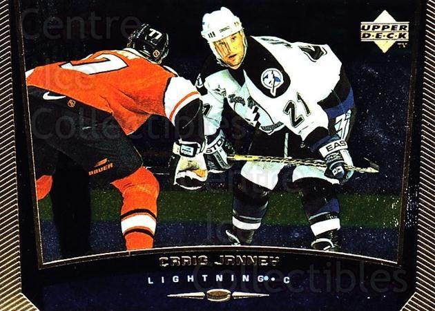 1998-99 Upper Deck Gold Reserve #366 Craig Janney<br/>6 In Stock - $1.00 each - <a href=https://centericecollectibles.foxycart.com/cart?name=1998-99%20Upper%20Deck%20Gold%20Reserve%20%23366%20Craig%20Janney...&quantity_max=6&price=$1.00&code=159776 class=foxycart> Buy it now! </a>
