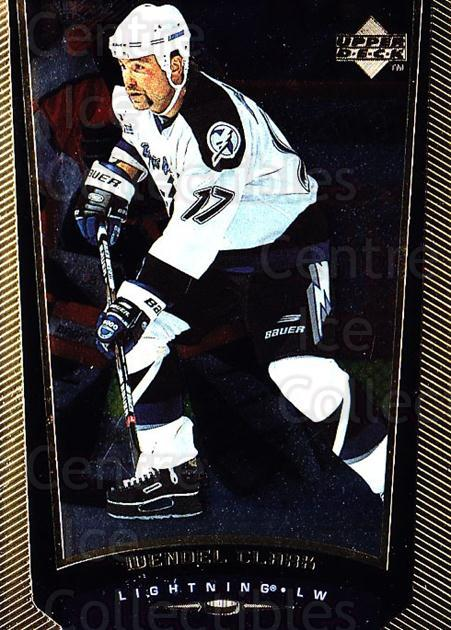 1998-99 Upper Deck Gold Reserve #369 Wendel Clark<br/>3 In Stock - $1.00 each - <a href=https://centericecollectibles.foxycart.com/cart?name=1998-99%20Upper%20Deck%20Gold%20Reserve%20%23369%20Wendel%20Clark...&quantity_max=3&price=$1.00&code=159778 class=foxycart> Buy it now! </a>