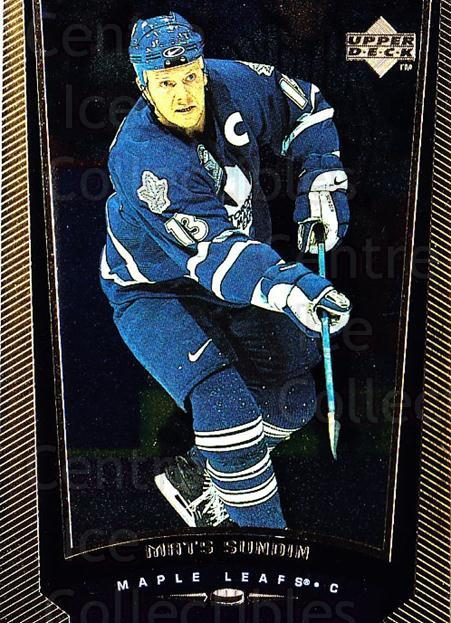 1998-99 Upper Deck Gold Reserve #370 Mats Sundin<br/>4 In Stock - $1.00 each - <a href=https://centericecollectibles.foxycart.com/cart?name=1998-99%20Upper%20Deck%20Gold%20Reserve%20%23370%20Mats%20Sundin...&quantity_max=4&price=$1.00&code=159780 class=foxycart> Buy it now! </a>