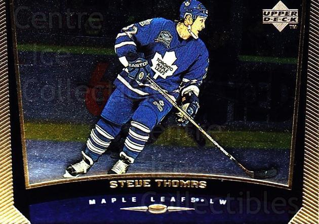 1998-99 Upper Deck Gold Reserve #374 Steve Thomas<br/>4 In Stock - $1.00 each - <a href=https://centericecollectibles.foxycart.com/cart?name=1998-99%20Upper%20Deck%20Gold%20Reserve%20%23374%20Steve%20Thomas...&quantity_max=4&price=$1.00&code=159784 class=foxycart> Buy it now! </a>