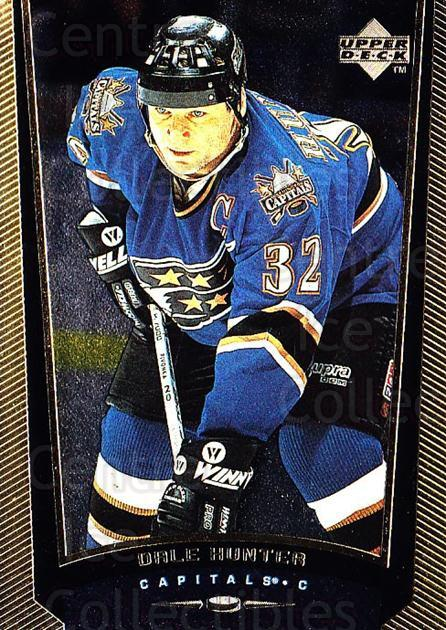 1998-99 Upper Deck Gold Reserve #383 Dale Hunter<br/>5 In Stock - $1.00 each - <a href=https://centericecollectibles.foxycart.com/cart?name=1998-99%20Upper%20Deck%20Gold%20Reserve%20%23383%20Dale%20Hunter...&quantity_max=5&price=$1.00&code=159794 class=foxycart> Buy it now! </a>