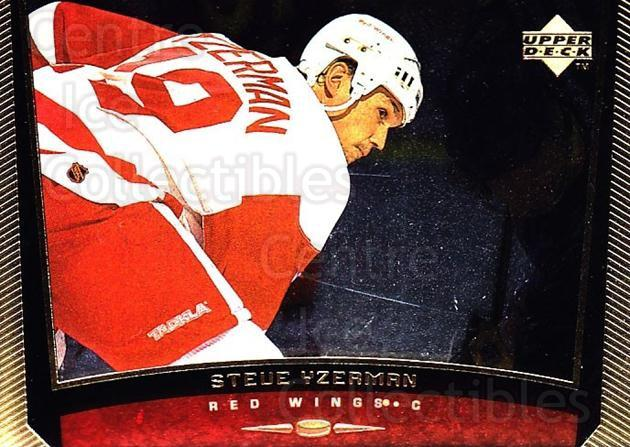 1998-99 Upper Deck Gold Reserve #389 Steve Yzerman, Checklist<br/>3 In Stock - $2.00 each - <a href=https://centericecollectibles.foxycart.com/cart?name=1998-99%20Upper%20Deck%20Gold%20Reserve%20%23389%20Steve%20Yzerman,%20...&quantity_max=3&price=$2.00&code=159799 class=foxycart> Buy it now! </a>