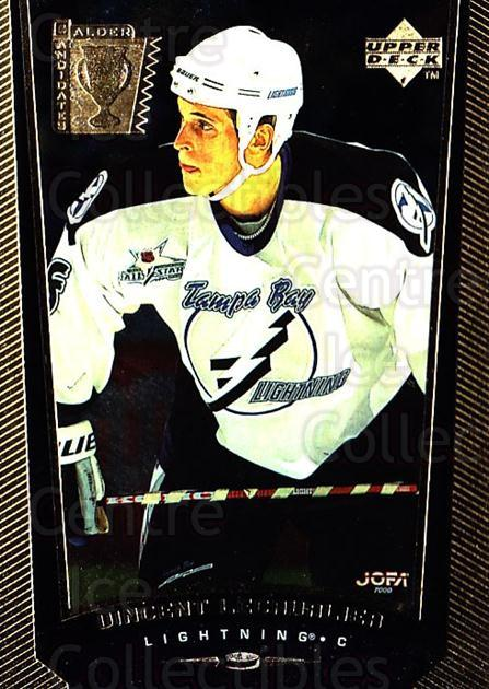 1998-99 Upper Deck Gold Reserve #414 Vincent Lecavalier<br/>7 In Stock - $1.00 each - <a href=https://centericecollectibles.foxycart.com/cart?name=1998-99%20Upper%20Deck%20Gold%20Reserve%20%23414%20Vincent%20Lecaval...&quantity_max=7&price=$1.00&code=159826 class=foxycart> Buy it now! </a>