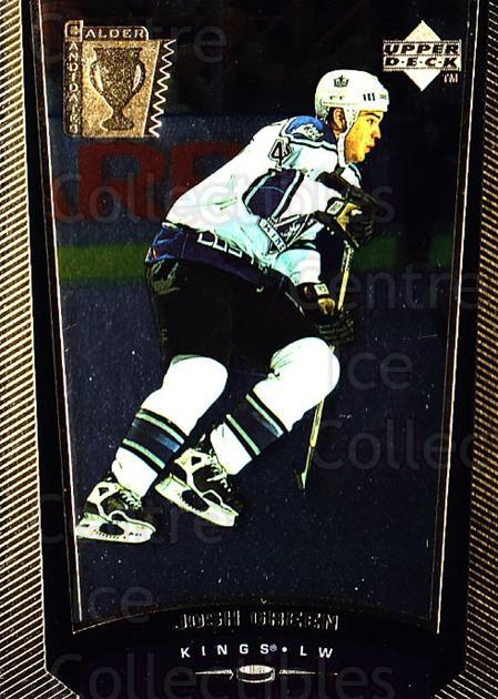 1998-99 Upper Deck Gold Reserve #418 Josh Green<br/>2 In Stock - $1.00 each - <a href=https://centericecollectibles.foxycart.com/cart?name=1998-99%20Upper%20Deck%20Gold%20Reserve%20%23418%20Josh%20Green...&quantity_max=2&price=$1.00&code=159830 class=foxycart> Buy it now! </a>