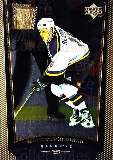 1998-99 Upper Deck Gold Reserve #419 Marty Reasoner<br/>6 In Stock - $1.00 each - <a href=https://centericecollectibles.foxycart.com/cart?name=1998-99%20Upper%20Deck%20Gold%20Reserve%20%23419%20Marty%20Reasoner...&quantity_max=6&price=$1.00&code=159831 class=foxycart> Buy it now! </a>