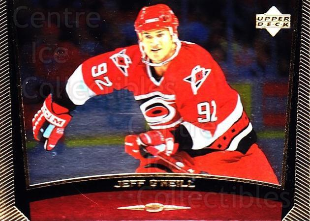 1998-99 Upper Deck Gold Reserve #61 Jeff O'Neill<br/>4 In Stock - $1.00 each - <a href=https://centericecollectibles.foxycart.com/cart?name=1998-99%20Upper%20Deck%20Gold%20Reserve%20%2361%20Jeff%20O'Neill...&quantity_max=4&price=$1.00&code=159851 class=foxycart> Buy it now! </a>