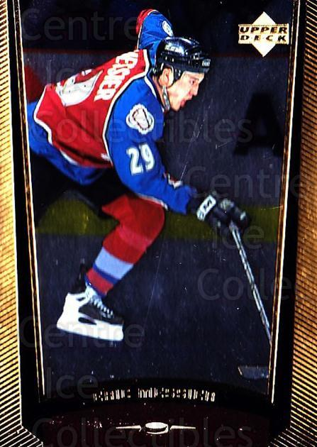 1998-99 Upper Deck Gold Reserve #70 Eric Messier<br/>2 In Stock - $1.00 each - <a href=https://centericecollectibles.foxycart.com/cart?name=1998-99%20Upper%20Deck%20Gold%20Reserve%20%2370%20Eric%20Messier...&quantity_max=2&price=$1.00&code=159859 class=foxycart> Buy it now! </a>