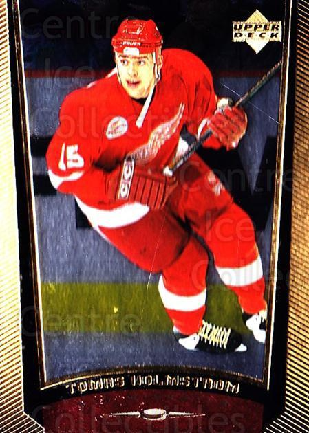 1998-99 Upper Deck Gold Reserve #89 Tomas Holmstrom<br/>2 In Stock - $1.00 each - <a href=https://centericecollectibles.foxycart.com/cart?name=1998-99%20Upper%20Deck%20Gold%20Reserve%20%2389%20Tomas%20Holmstrom...&quantity_max=2&price=$1.00&code=159877 class=foxycart> Buy it now! </a>