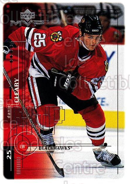1998-99 Upper Deck MVP #47 Daniel Cleary<br/>13 In Stock - $1.00 each - <a href=https://centericecollectibles.foxycart.com/cart?name=1998-99%20Upper%20Deck%20MVP%20%2347%20Daniel%20Cleary...&quantity_max=13&price=$1.00&code=159900 class=foxycart> Buy it now! </a>
