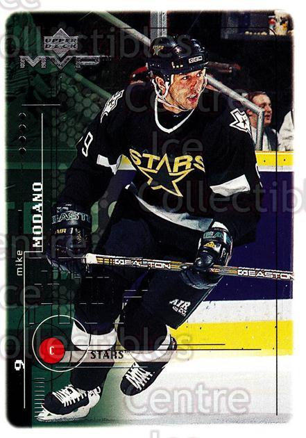 1998-99 Upper Deck MVP #61 Mike Modano<br/>13 In Stock - $1.00 each - <a href=https://centericecollectibles.foxycart.com/cart?name=1998-99%20Upper%20Deck%20MVP%20%2361%20Mike%20Modano...&quantity_max=13&price=$1.00&code=159915 class=foxycart> Buy it now! </a>