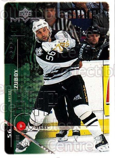 1998-99 Upper Deck MVP #65 Sergei Zubov<br/>13 In Stock - $1.00 each - <a href=https://centericecollectibles.foxycart.com/cart?name=1998-99%20Upper%20Deck%20MVP%20%2365%20Sergei%20Zubov...&quantity_max=13&price=$1.00&code=159919 class=foxycart> Buy it now! </a>