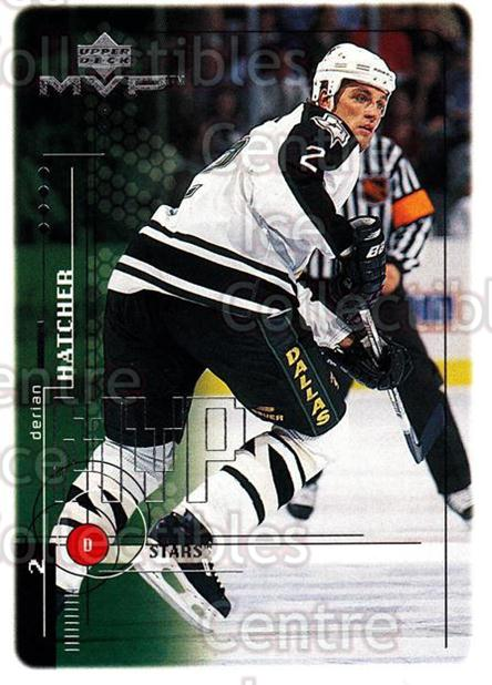 1998-99 Upper Deck MVP #66 Derian Hatcher<br/>14 In Stock - $1.00 each - <a href=https://centericecollectibles.foxycart.com/cart?name=1998-99%20Upper%20Deck%20MVP%20%2366%20Derian%20Hatcher...&quantity_max=14&price=$1.00&code=159920 class=foxycart> Buy it now! </a>
