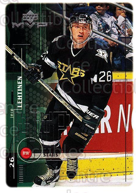 1998-99 Upper Deck MVP #67 Jere Lehtinen<br/>14 In Stock - $1.00 each - <a href=https://centericecollectibles.foxycart.com/cart?name=1998-99%20Upper%20Deck%20MVP%20%2367%20Jere%20Lehtinen...&quantity_max=14&price=$1.00&code=159921 class=foxycart> Buy it now! </a>