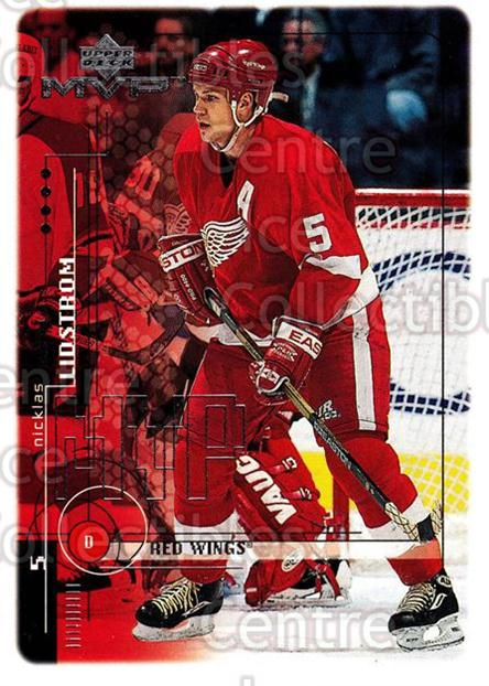 1998-99 Upper Deck MVP #70 Nicklas Lidstrom<br/>14 In Stock - $1.00 each - <a href=https://centericecollectibles.foxycart.com/cart?name=1998-99%20Upper%20Deck%20MVP%20%2370%20Nicklas%20Lidstro...&quantity_max=14&price=$1.00&code=159925 class=foxycart> Buy it now! </a>