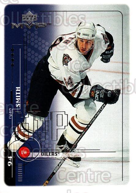 1998-99 Upper Deck MVP #82 Ryan Smyth<br/>13 In Stock - $1.00 each - <a href=https://centericecollectibles.foxycart.com/cart?name=1998-99%20Upper%20Deck%20MVP%20%2382%20Ryan%20Smyth...&quantity_max=13&price=$1.00&code=159937 class=foxycart> Buy it now! </a>