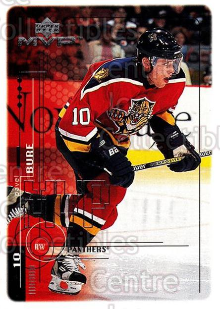 1998-99 Upper Deck MVP #85 Pavel Bure<br/>13 In Stock - $1.00 each - <a href=https://centericecollectibles.foxycart.com/cart?name=1998-99%20Upper%20Deck%20MVP%20%2385%20Pavel%20Bure...&quantity_max=13&price=$1.00&code=159940 class=foxycart> Buy it now! </a>