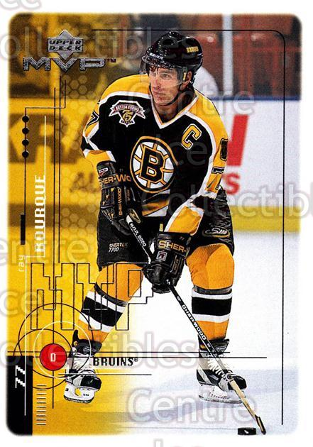 1998-99 Upper Deck MVP #9 Ray Bourque<br/>13 In Stock - $1.00 each - <a href=https://centericecollectibles.foxycart.com/cart?name=1998-99%20Upper%20Deck%20MVP%20%239%20Ray%20Bourque...&quantity_max=13&price=$1.00&code=159945 class=foxycart> Buy it now! </a>