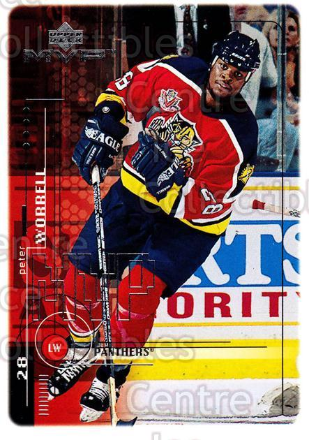 1998-99 Upper Deck MVP #90 Peter Worrell<br/>12 In Stock - $1.00 each - <a href=https://centericecollectibles.foxycart.com/cart?name=1998-99%20Upper%20Deck%20MVP%20%2390%20Peter%20Worrell...&quantity_max=12&price=$1.00&code=159946 class=foxycart> Buy it now! </a>
