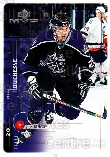 1998-99 Upper Deck MVP #93 Steve Duchesne<br/>14 In Stock - $1.00 each - <a href=https://centericecollectibles.foxycart.com/cart?name=1998-99%20Upper%20Deck%20MVP%20%2393%20Steve%20Duchesne...&quantity_max=14&price=$1.00&code=159949 class=foxycart> Buy it now! </a>