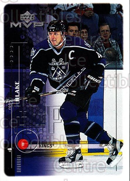 1998-99 Upper Deck MVP #94 Rob Blake<br/>14 In Stock - $1.00 each - <a href=https://centericecollectibles.foxycart.com/cart?name=1998-99%20Upper%20Deck%20MVP%20%2394%20Rob%20Blake...&quantity_max=14&price=$1.00&code=159950 class=foxycart> Buy it now! </a>