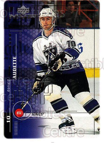1998-99 Upper Deck MVP #96 Donald Audette<br/>13 In Stock - $1.00 each - <a href=https://centericecollectibles.foxycart.com/cart?name=1998-99%20Upper%20Deck%20MVP%20%2396%20Donald%20Audette...&quantity_max=13&price=$1.00&code=159952 class=foxycart> Buy it now! </a>