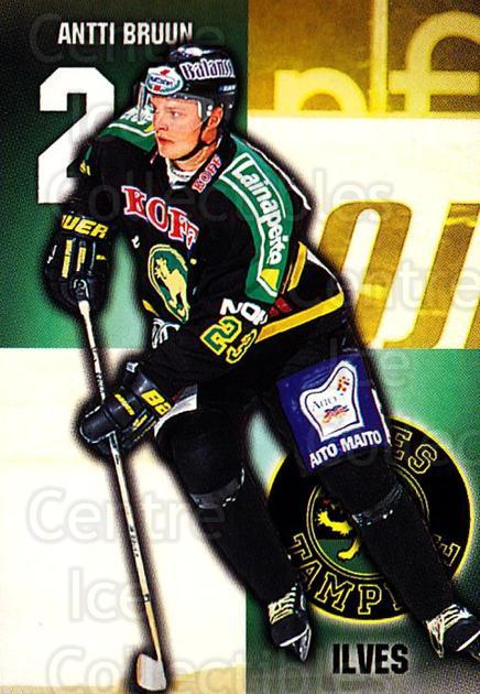 1999-00 Finnish Cardset #248 Antti Bruun<br/>8 In Stock - $2.00 each - <a href=https://centericecollectibles.foxycart.com/cart?name=1999-00%20Finnish%20Cardset%20%23248%20Antti%20Bruun...&quantity_max=8&price=$2.00&code=160218 class=foxycart> Buy it now! </a>