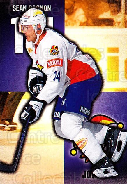 1999-00 Finnish Cardset #260 Sean Gagnon<br/>6 In Stock - $2.00 each - <a href=https://centericecollectibles.foxycart.com/cart?name=1999-00%20Finnish%20Cardset%20%23260%20Sean%20Gagnon...&price=$2.00&code=160232 class=foxycart> Buy it now! </a>