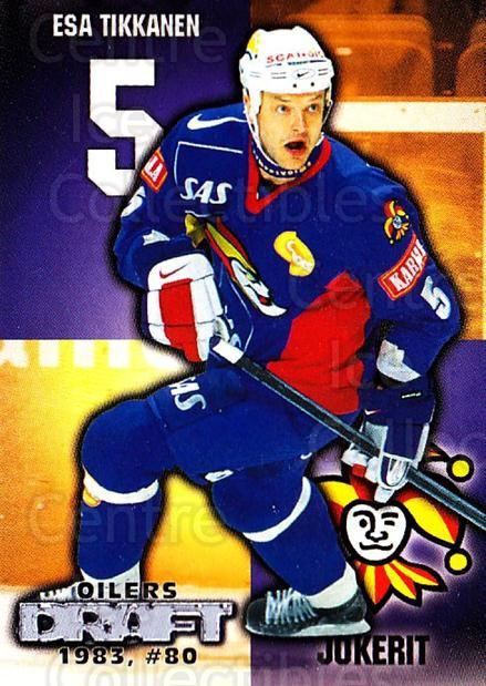 1999-00 Finnish Cardset #265 Esa Tikkanen<br/>5 In Stock - $2.00 each - <a href=https://centericecollectibles.foxycart.com/cart?name=1999-00%20Finnish%20Cardset%20%23265%20Esa%20Tikkanen...&price=$2.00&code=160237 class=foxycart> Buy it now! </a>