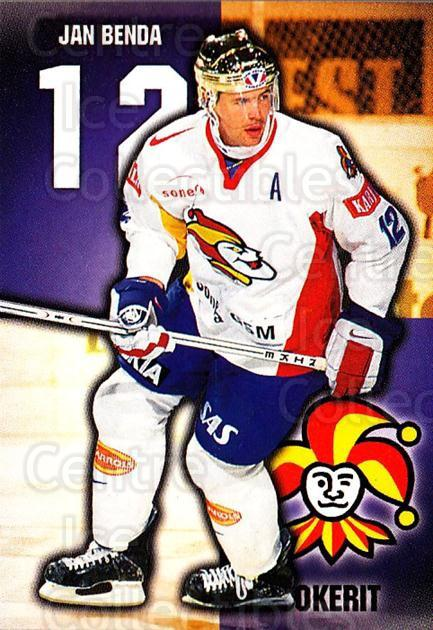 1999-00 Finnish Cardset #266 Jan Benda<br/>1 In Stock - $2.00 each - <a href=https://centericecollectibles.foxycart.com/cart?name=1999-00%20Finnish%20Cardset%20%23266%20Jan%20Benda...&price=$2.00&code=160238 class=foxycart> Buy it now! </a>