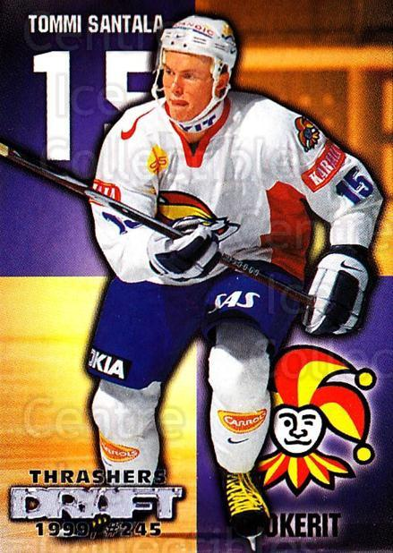 1999-00 Finnish Cardset #267 Tommi Santala<br/>2 In Stock - $2.00 each - <a href=https://centericecollectibles.foxycart.com/cart?name=1999-00%20Finnish%20Cardset%20%23267%20Tommi%20Santala...&price=$2.00&code=160239 class=foxycart> Buy it now! </a>