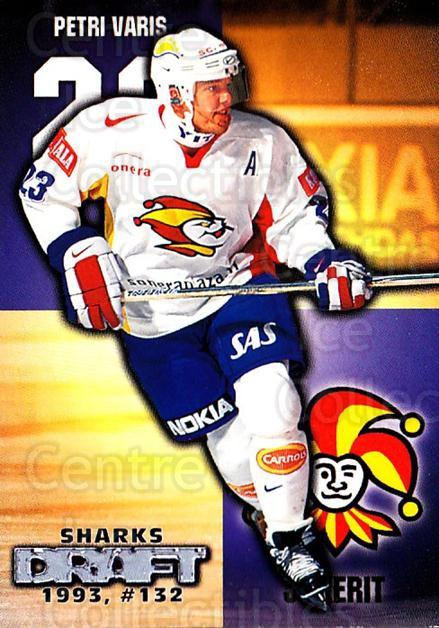 1999-00 Finnish Cardset #268 Petri Varis<br/>7 In Stock - $2.00 each - <a href=https://centericecollectibles.foxycart.com/cart?name=1999-00%20Finnish%20Cardset%20%23268%20Petri%20Varis...&price=$2.00&code=160240 class=foxycart> Buy it now! </a>